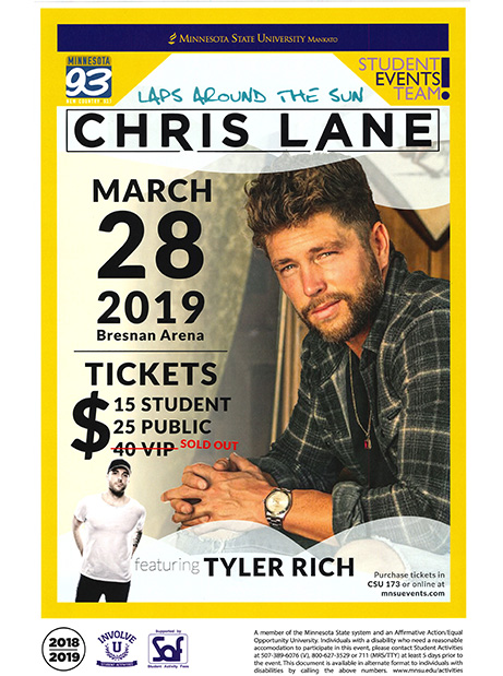 Good Timing Brings Country Star to Campus