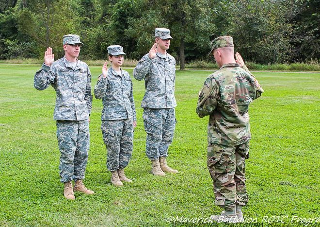 Army ROTC Teaching Leadership