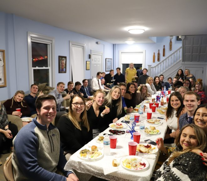 University Tradition: A Greek Thanksgiving