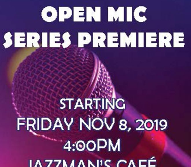 CSU Stages New Open Mic Series Starting Nov. 8