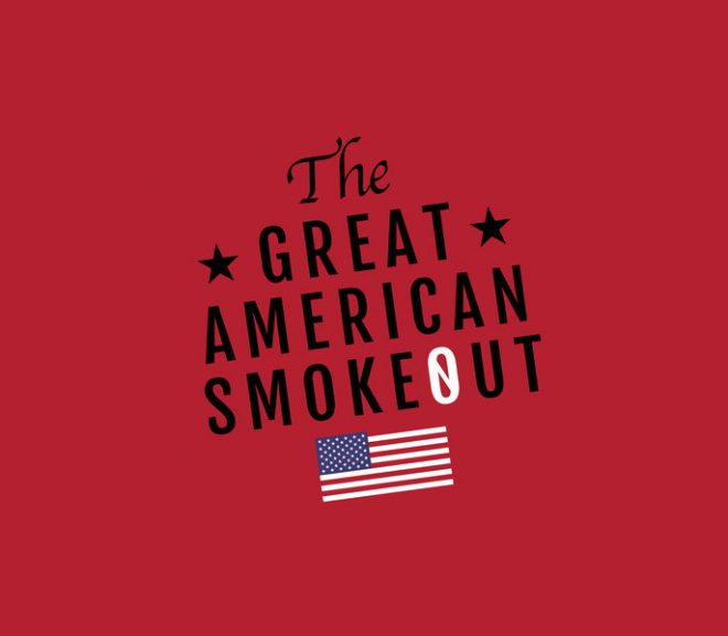 Nov 21: The Great American Smokeout!