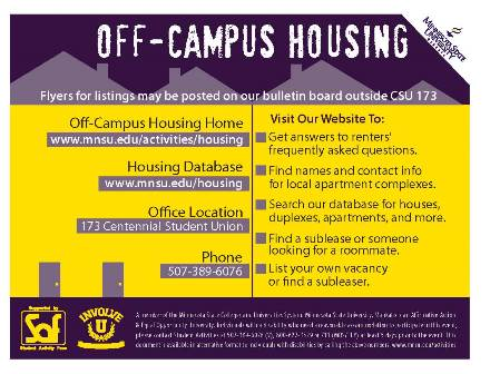 Off-Campus Housing Resources