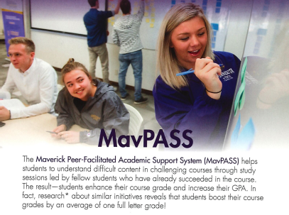 MavPASS Offers Alternative Study Option for Students