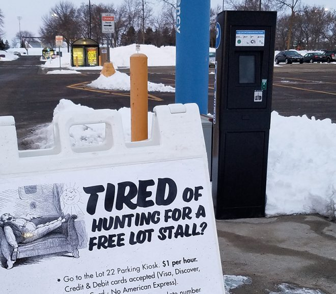 $1 an Hour Parking; Fines Payable Online Among New Parking Services