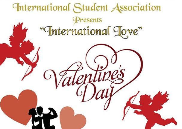 International Student Association Hosts Valentine's Day Mixer