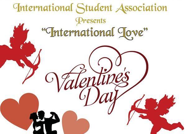 International Student Association Hosts Valentine's Day Mixer
