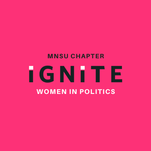 IGNITE MNSU: Women in Politics is March RSO of the Month