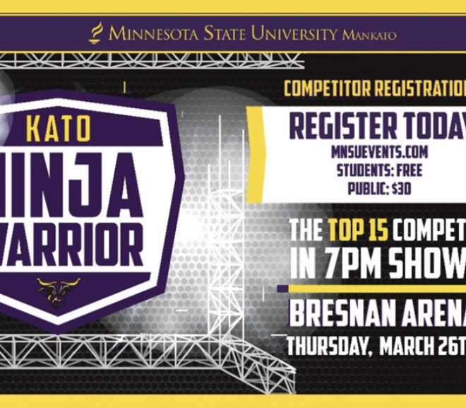 Warrior's Cup Now Part of March 26 Kato Ninja Warrior