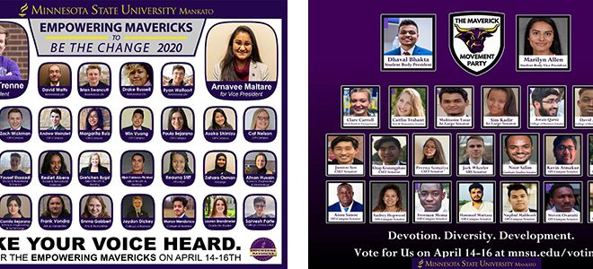 Candidates Listed For Student Government Elections April 14-16