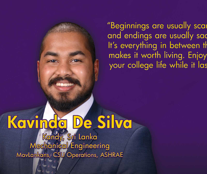 KAVINDA DE SILVA: Connecting to Build a Stronger Network