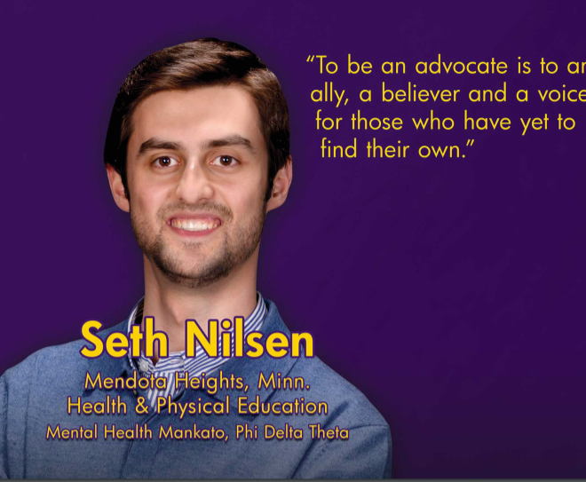SETH NILSEN: AN ADVOCATE FOR OTHERS THROUGH SELF-DETERMINATION