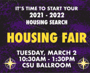 Time to Find a Place for Next Year with the Housing Fair and Mav Hunt