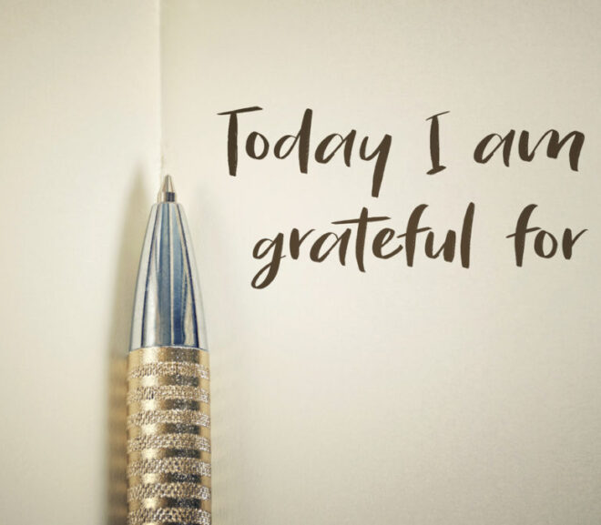 Journaling: What Are You Grateful For?