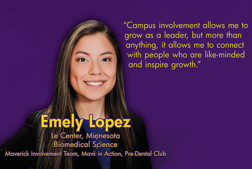 Photo of Emely Lopez with her BEST Board quote.