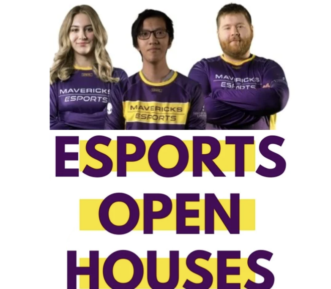 Maverick Esports Continues To Gain Momentum; Recruitment, Open Houses, Learning Communities Underway