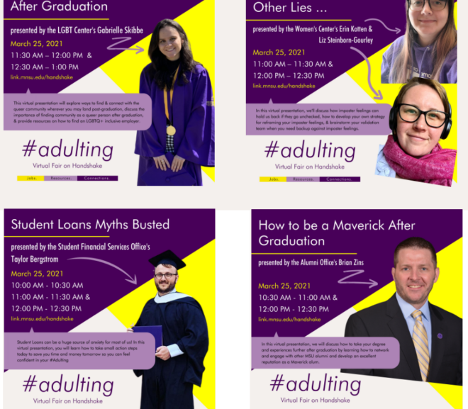 #Adulting: Making Connections With University Professionals Part of Unique March 25 Career Fair