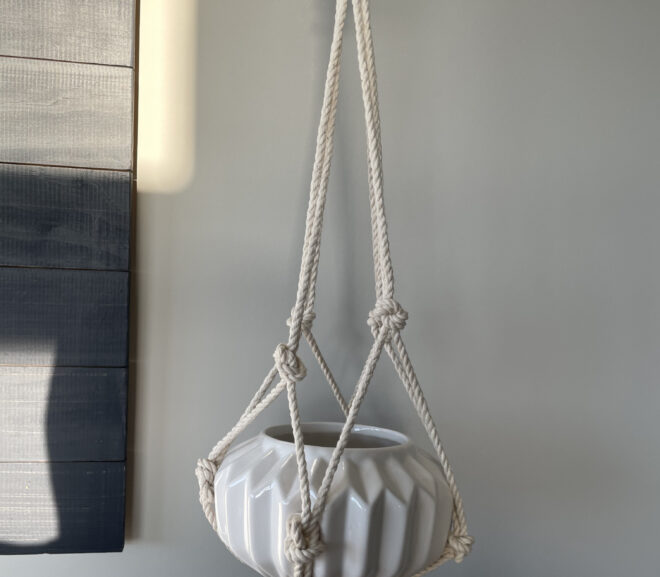 How-To: Make Your Own Macrame Plant Hanger