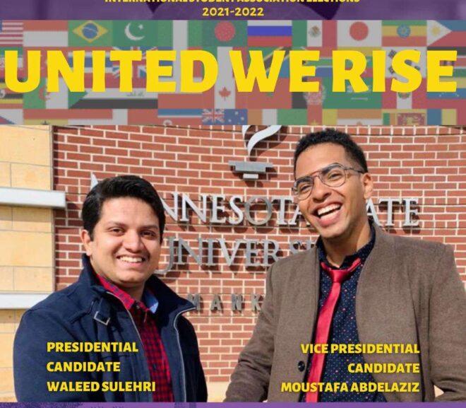 International Student Association Election Results: Meet President Waleed Mehmood Sulehri and Vice President Moustafa Abdelaziz