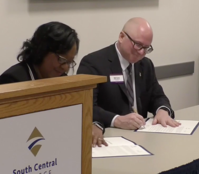 South Central College & Minnesota State Mankato Collaboration Offers Smooth Transition from Associate to Baccalaureate Nursing Program