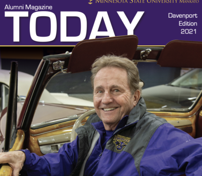 Special Issue Of University's TODAY Magazine Offers Tribute to Retiring President Richard Davenport