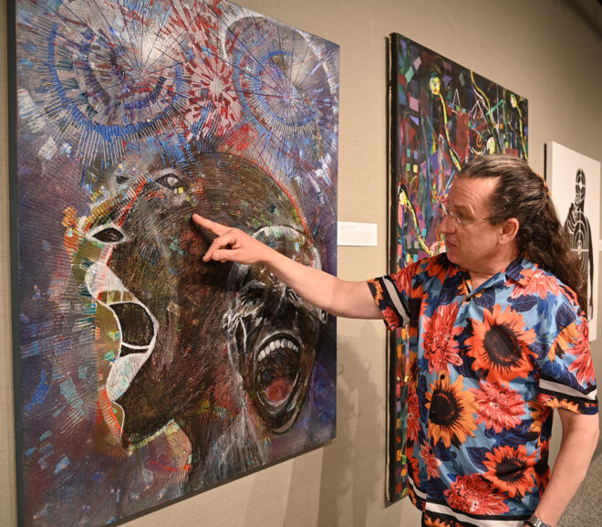 Art Exhibit by Student Activities Associate Director Greg Wilkins Offers Historic and Creative Expression to Black Lives Matter